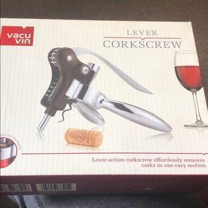 Other - Vacu vin corkscrew